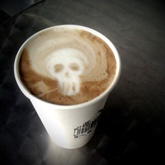 Skull In Foam | by jody-rodgers