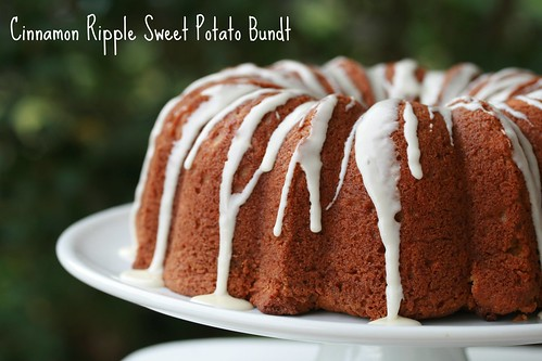 Cinnamon Ripple Sweet Potato Bundt - I Like Big Bundts | by Food Librarian