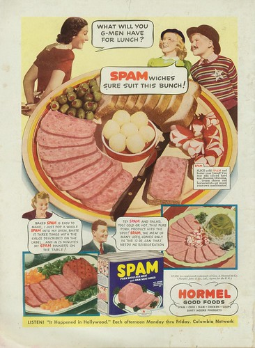 Vintage Spam Ad Junior G Men Daves Cupboard Flickr