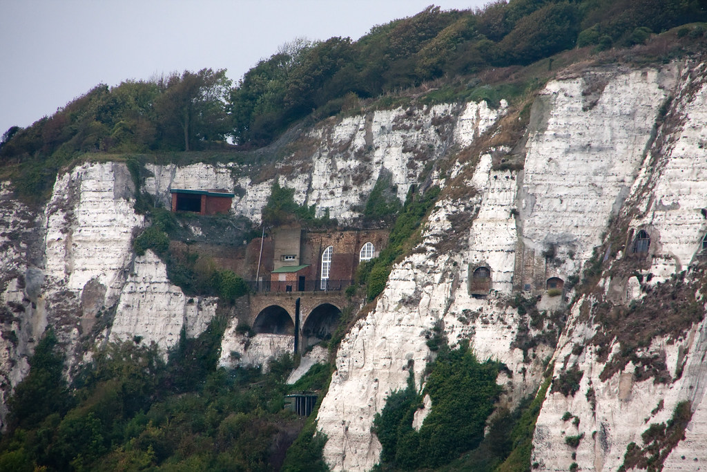 White Cliffs Of Dover  Tunnel Entrances  CyberNomad