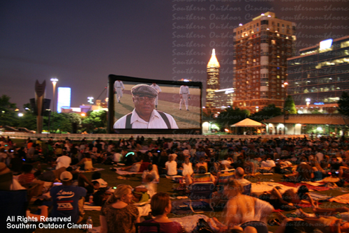 Screen On The Green At Centennial Olympic Park