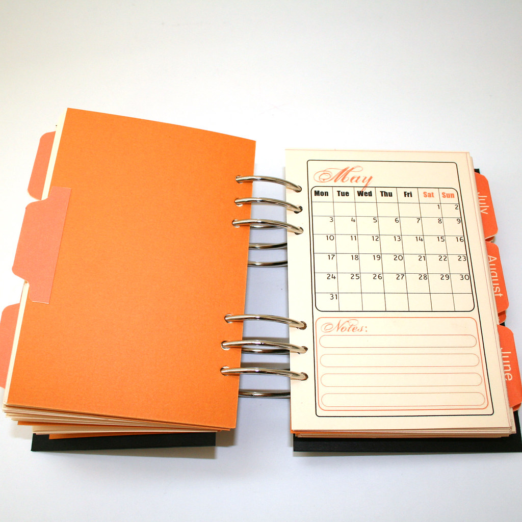 Make Your Own Planner Workshop Monthly Planner Flickr