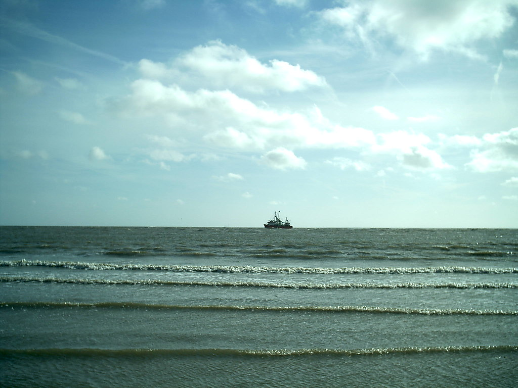Ship On The Horizon    North Sea