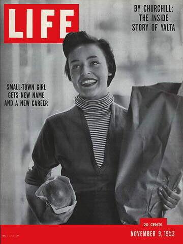 Gordon Parks, Life Mag - Jill Corey Nov. 9, 1953   Another f ...