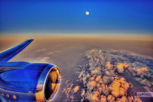 HDR from Airplane Window | by Captain Kimo