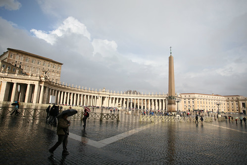 In Piazza San Pietro, after the rain. | by William Bereza
