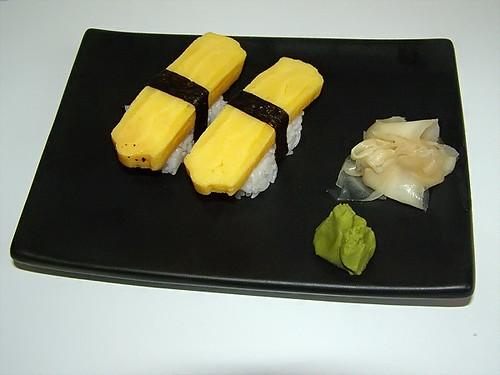 Tamago Nigiri Sushi Tamago Nigiri-zushi | by