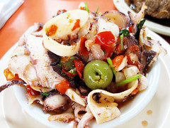 octopus salad @ margon | by bionicgrrrl