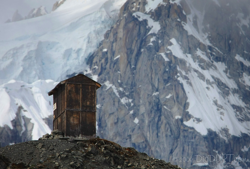 Private property alaska 39 s loneliest outhouse accessible for Free land in alaska