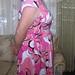 pink conterst dress 009