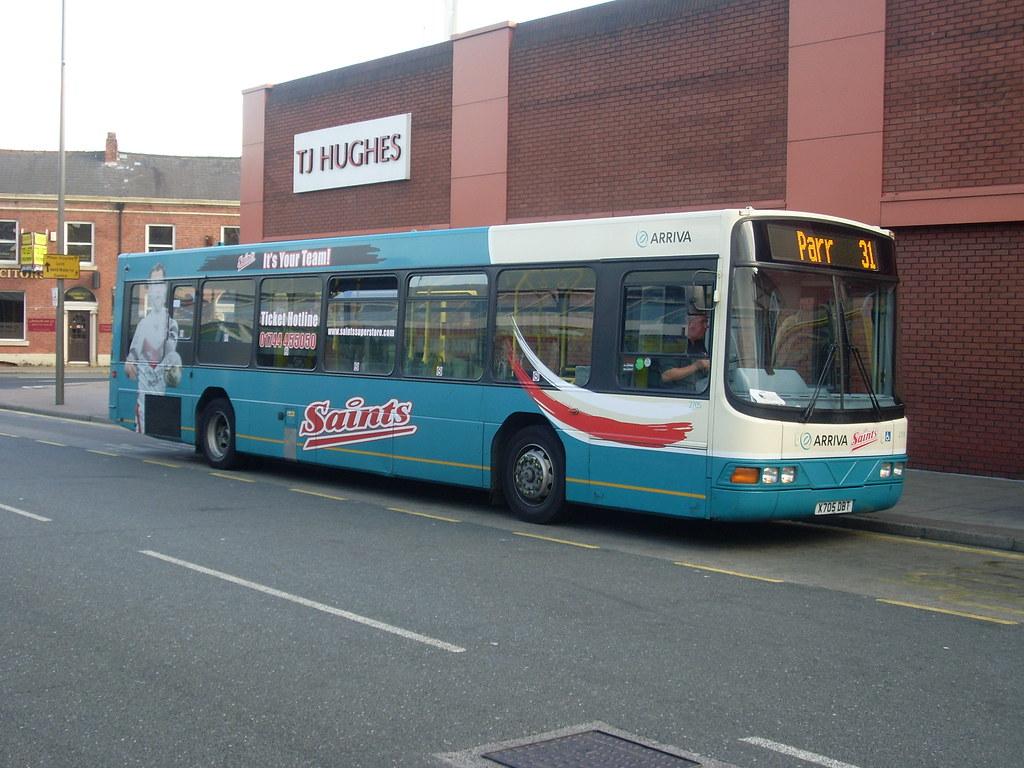 Arriva North West - Saints Bus - St Helens | Since the begin… | Flickr