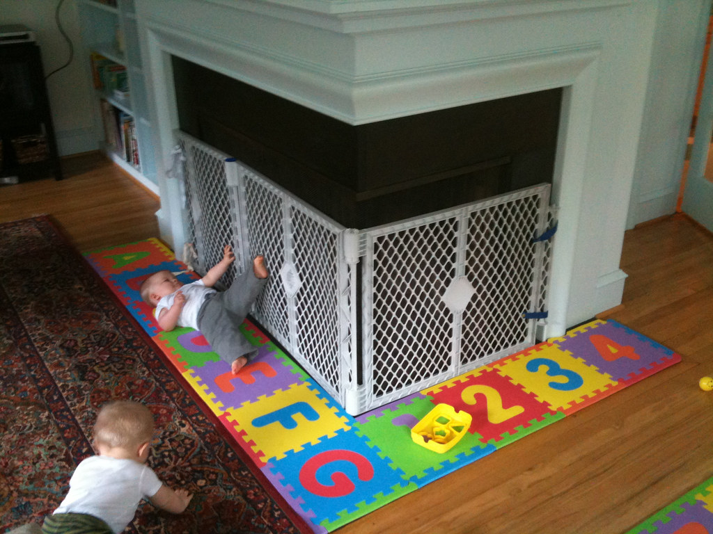 Baby Proofing The Fireplace Jack Amp Mat Flickr