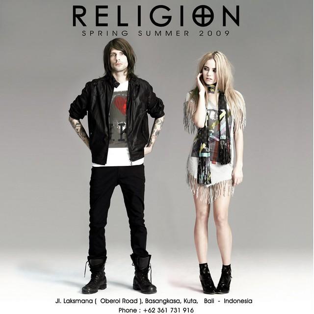 religion clothing ad