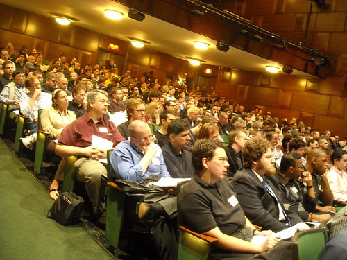 Singularity Summit audience | by david.orban