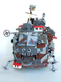 Howl's Moving Castle Front View | by Imagine™