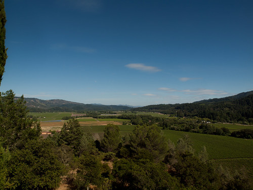 View of Napa valley from Sterling Winery | by Franco Folini
