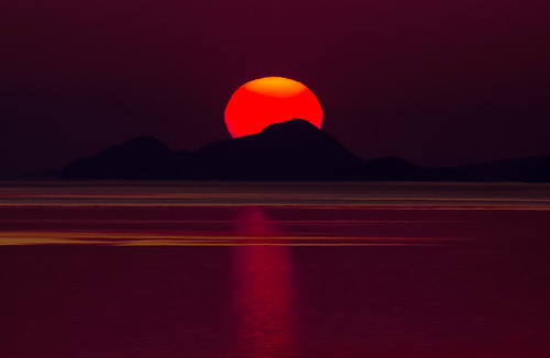 Red sunset