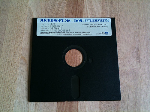 Microsoft MS-DOS 4.01 | by zickey