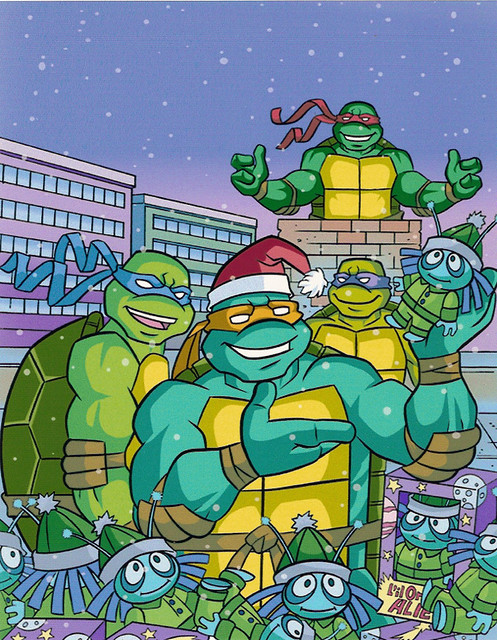 """Teenage Mutant Ninja Turtles"" Holiday Coloring Book by Be ..."