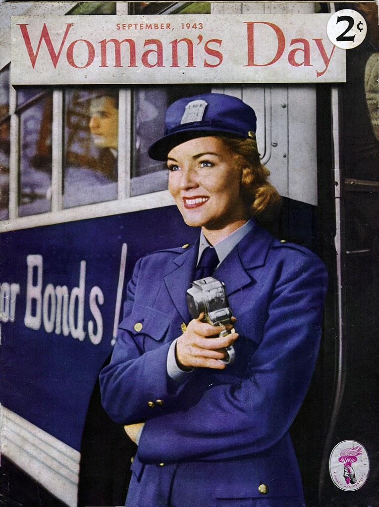 september 1943 woman u0026 39 s day magazine