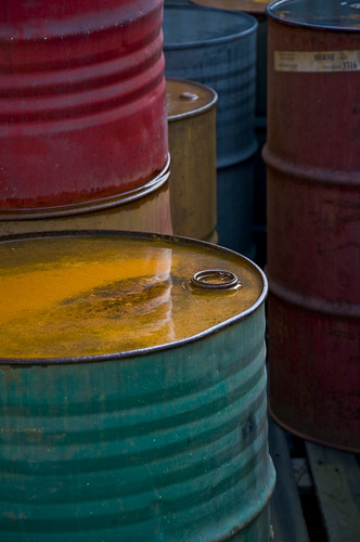 Colorful Old Oil Barrels | by L.C.Nøttaasen