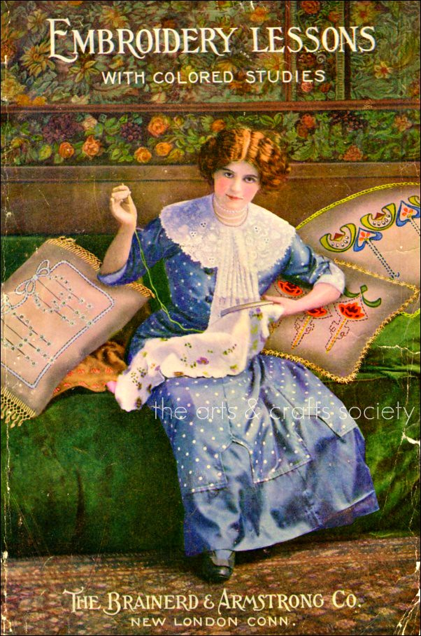 Embroidery Lessons1911 | Embroidery Lessons With Colored Su2026 | Flickr
