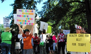 Health Care rally | by twbuckner