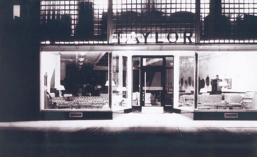 Taylor 39 s furniture store 1938 taylor 39 s furniture store for K furniture mall karur