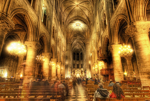 The Golden insides of Notre Dame | by Stuck in Customs