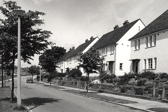 Fabulous 061075 Housing Estate Throckley Unknown C 1950S Type Pho Flickr Door Handles Collection Olytizonderlifede