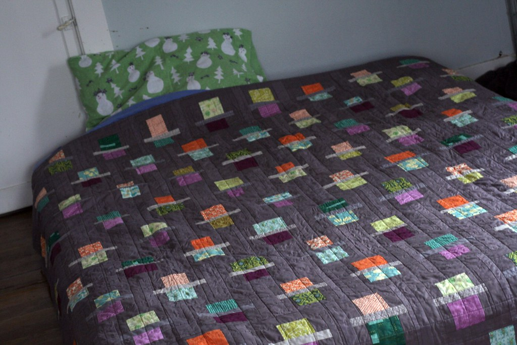 Queen Size Quilt On Twin Bed