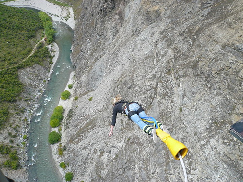 Queenstown - Elaine's Bungy Jump 11 | by eyeintim