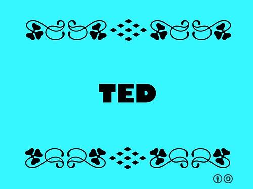 Buzzword Bingo: TED