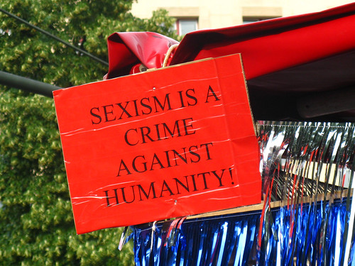 Sexism is a crime against humanity! | by ЯAFIK ♋ BERLIN