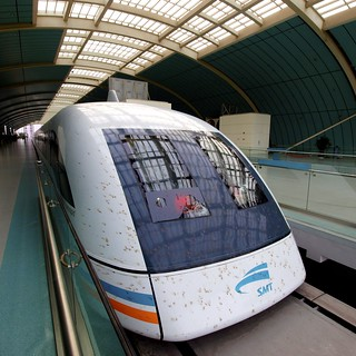 Maglev train, Shanghai, China | by chuha