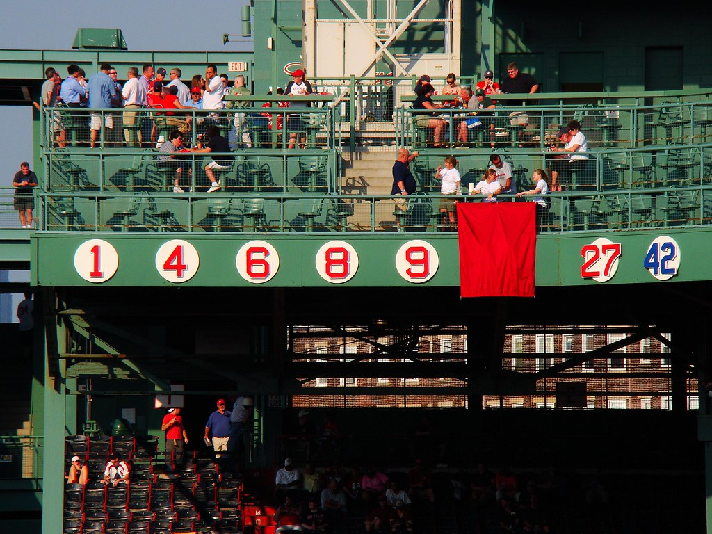 Jim Rice Day at Fenway Park | Retired numbers: #1 Bobby ...