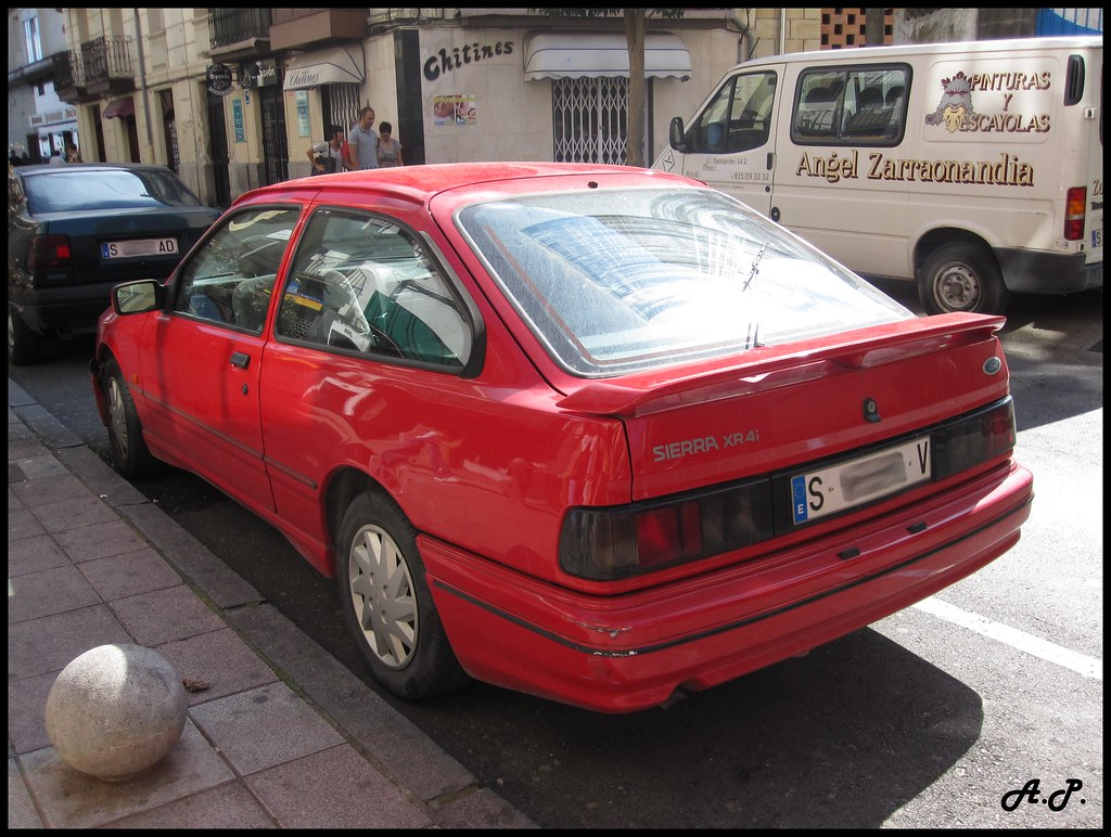1990 ford sierra xr4i love it this one had a custom fron flickr. Black Bedroom Furniture Sets. Home Design Ideas