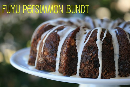 Persimmon Bundt Cake - I Like Big Bundts | by Food Librarian