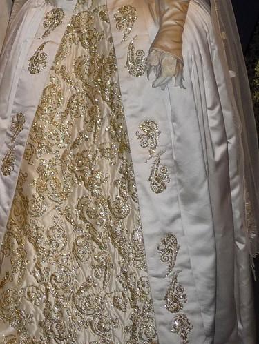 Jane Seymour S Wedding Dress Skirt Detail Jane Seymour