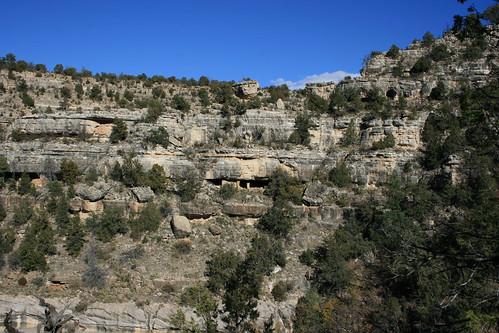 Walnut Canyon National Monument Cliff Dwellings And Ruins