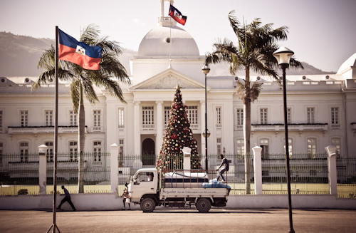 Haiti At Christmas In A Nutshell Haitian National Palac