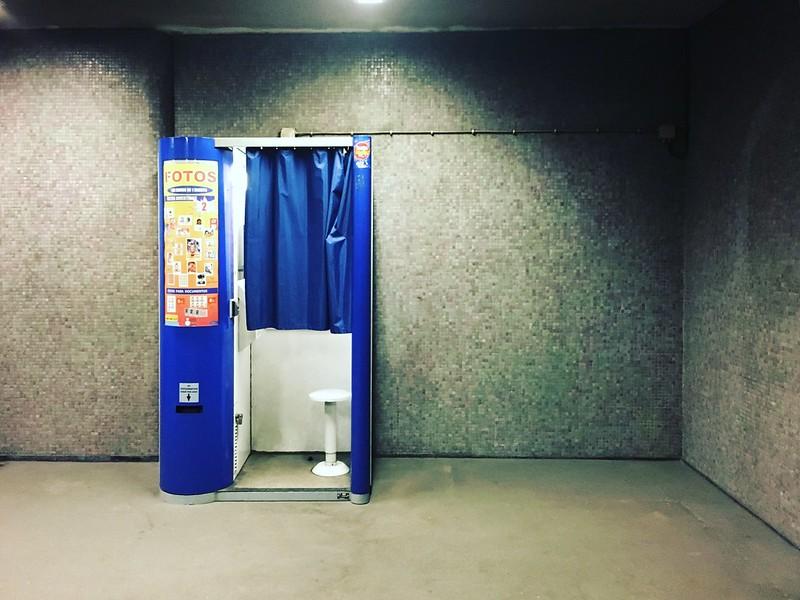 cabine de fotos. metro praça de espanha