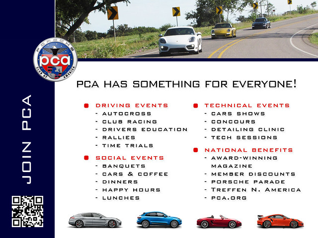 Join the Porsche Club Of America