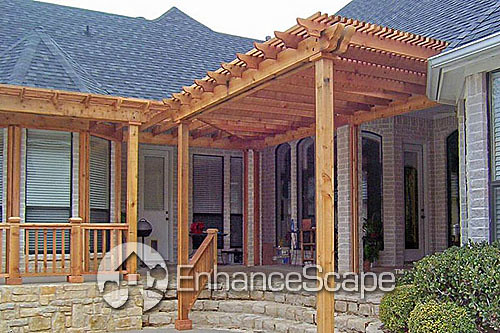 Covered Decks   Install a pergola with your covered deck ...