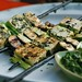 tofu kebabs with cilantro sauce