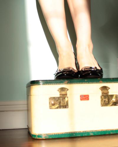 Patent Black Shoes Ladies