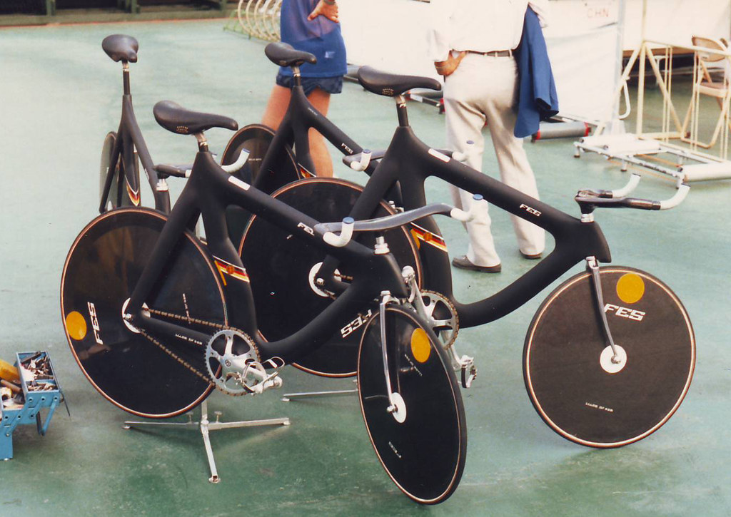 East German Fes Track Bikes Seoul Olympics For The 1988 S Flickr