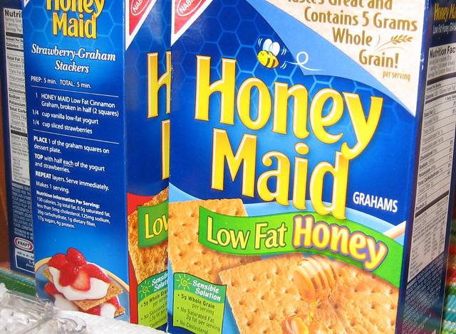 Low Fat Graham Cracker