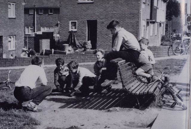 060122 Children Playing Marbles Unknown C 1970 Type