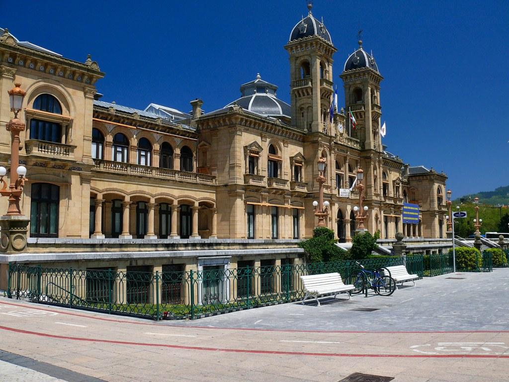 Ayuntamiento de san sebasti n the city hall at san - San sebastian pais vasco ...